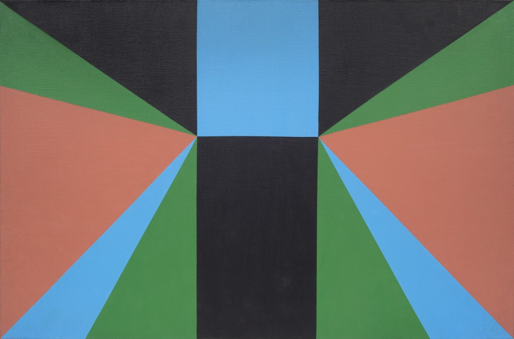 Jandyra Waters, Untitled, 1978, Acrylic on canvas, 40x60 cm