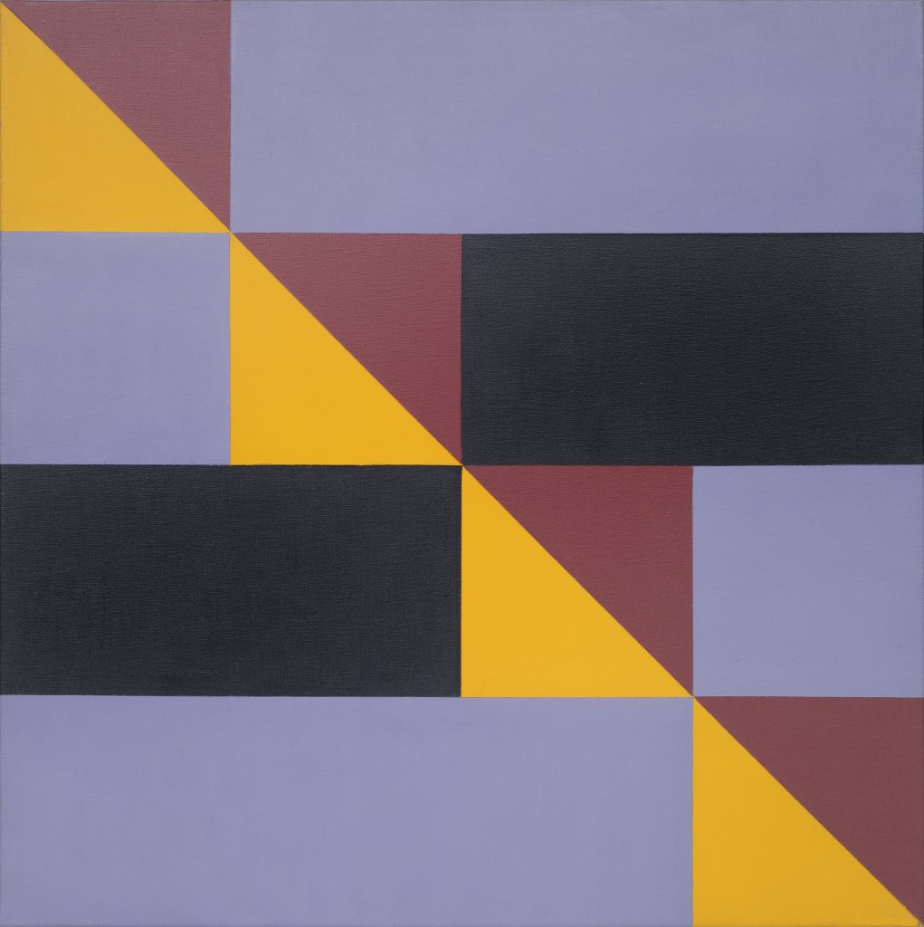 Jandyra Waters, Untitled, 2007, Acrylic on canvas 50x50 cm