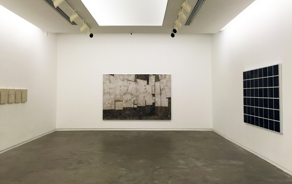 Daniel Senise, view of Le Salon, his solo show in Rio's Silvia Cintra Gallery, October 2015
